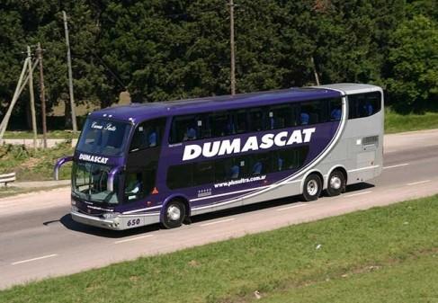 La empresa de transportes de pasajeros Dumas anunció