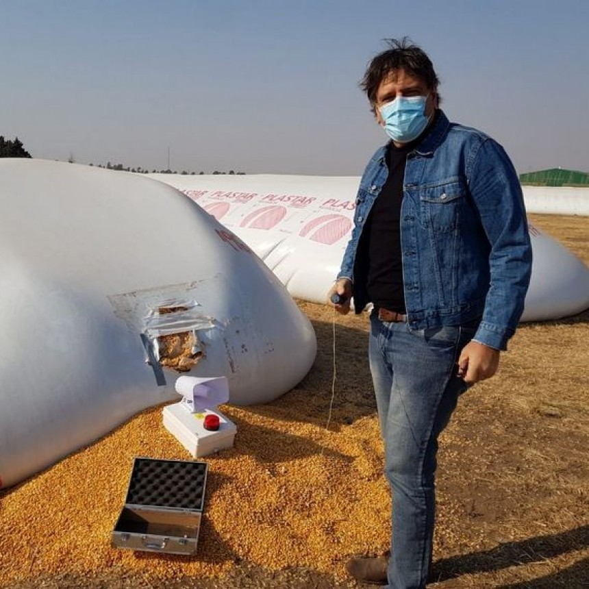 Córdoba incorporará tecnología para seguridad de silobolsas