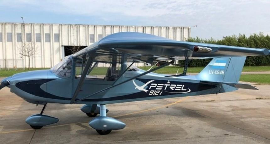 Conocé el primer avión eléctrico del país íntegramente ecológico