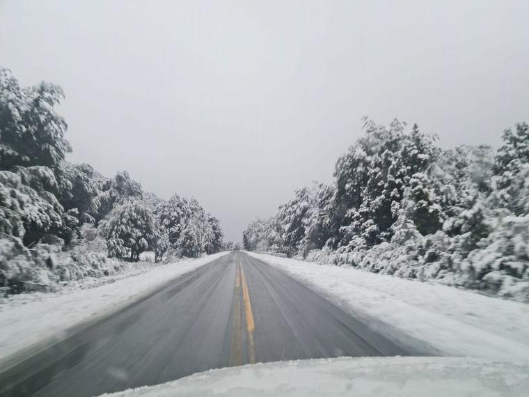 Bariloche: la nieve era esperada, pero trajo complicaciones