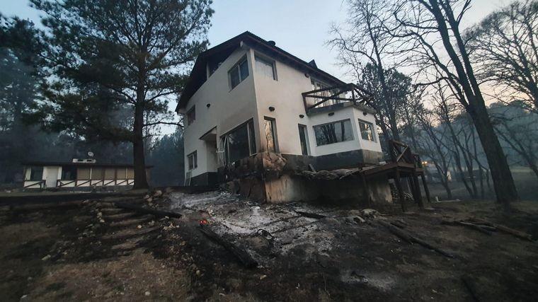 Se quemaron unas 80 viviendas en Potrero de Garay