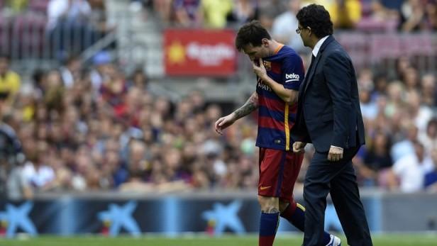 Los 12 partidos que se pierde Lionel Messi por su grave lesión
