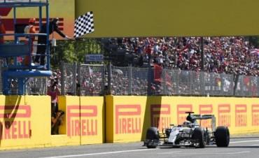 F1: Hamilton ganó el GP de Italia