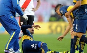 Confirmado: Fernando Gago se rompió el tendón de Aquiles