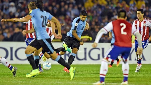 Uruguay goleó a Paraguay
