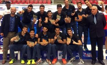 Argentina Campeón en Voley Sub 23 en la Copa Panamericana