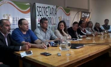 Presentación de la Vuelta de Ciclismo de La Pampa
