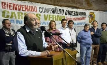 El gobernador, Carlos Verna