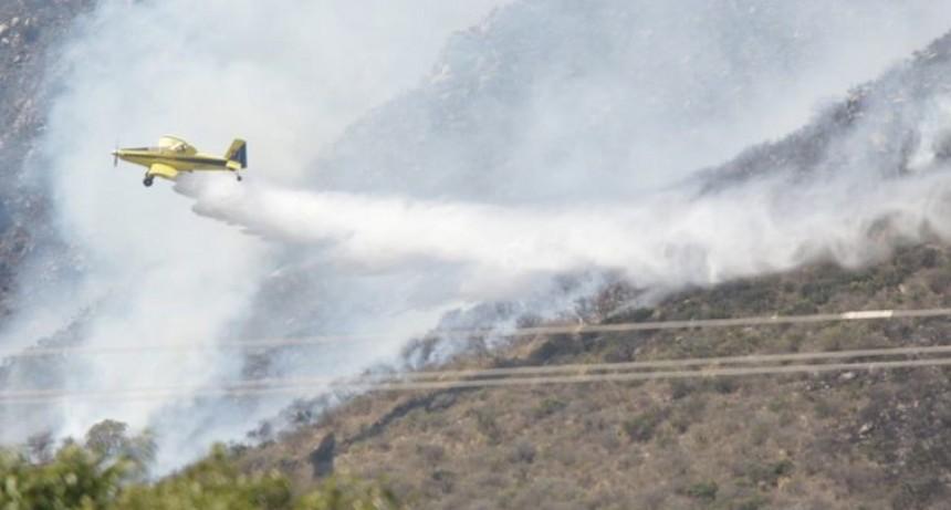 Fuego en Córdoba