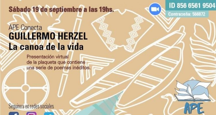Homenaje al poeta guatrachense Guillermo Herzel