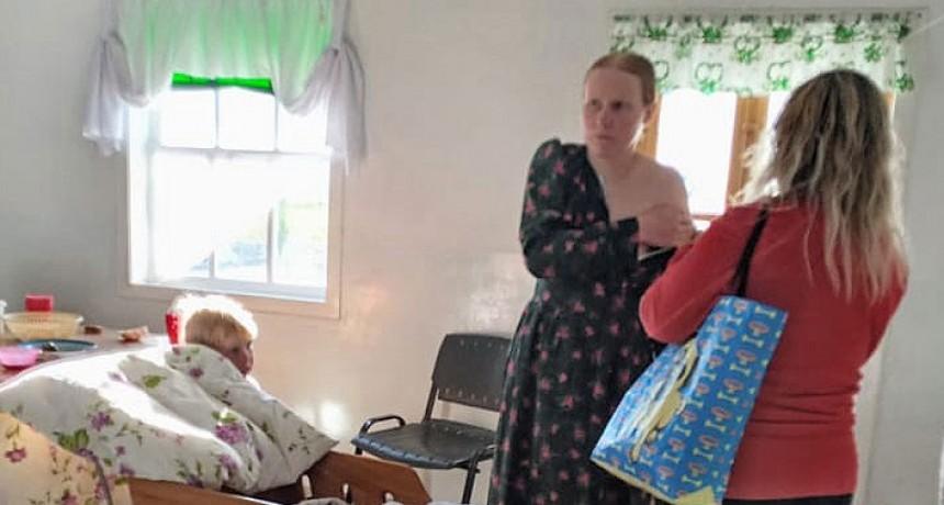 Vacunan casa por casa contra el Covid 19 en la Colonia Menonita