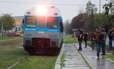 El tren retomó sus viajes a Santa Rosa