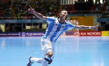 La gloria fue para los chicos argentinos