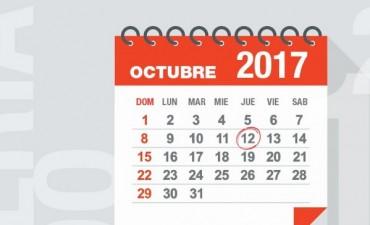 El 12 de octubre es un feriado trasladable