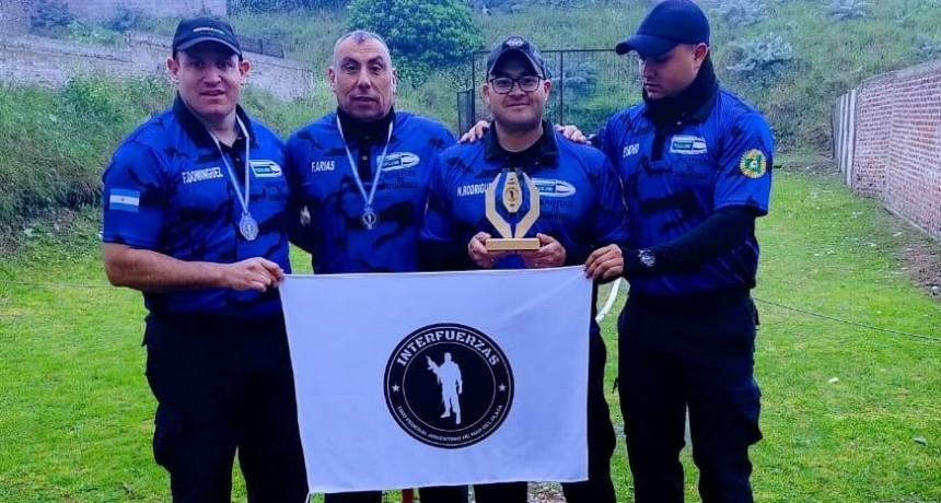 Excelente perfomance del equipo de tiro de la Policía en torneo nacional