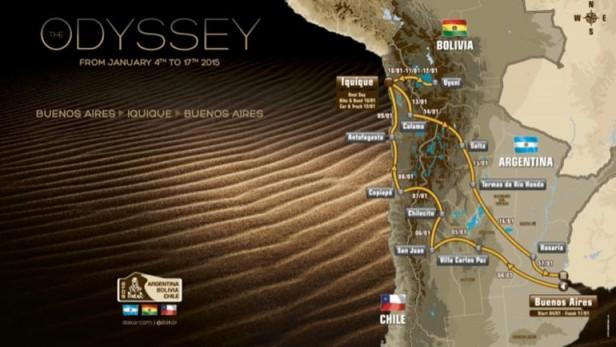 Datos del Dakar 2015