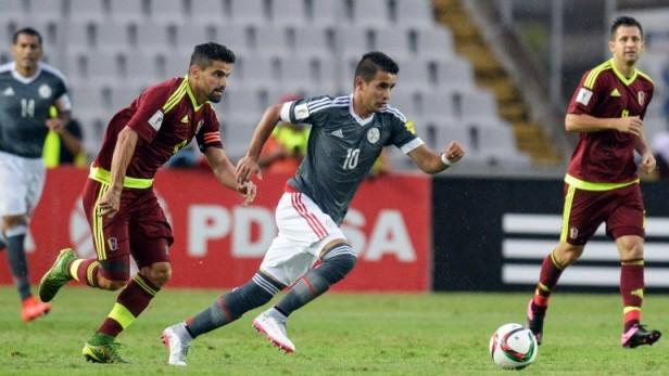 Bolivia goleó a Venezuela y consiguió su primer trinufo