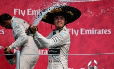 Fórmula 1: Nico Rosberg ganó el GP de México