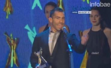 Carlos Tevez fue reconocido como el mejor deportista de 2015