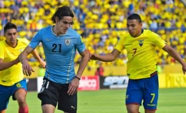 Ecuador le ganó a Uruguay y se adueñó de la punta