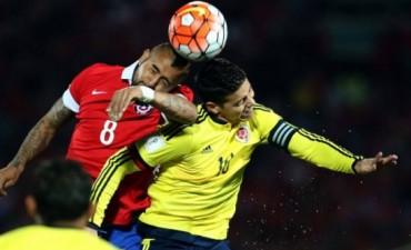 Chile empató con Colombia y le dejó la cima a Ecuador