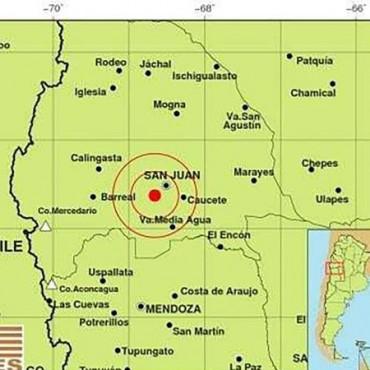 San Juan sufrió un nuevo sismo