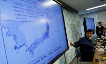 El epicentro fue en Fukushima
