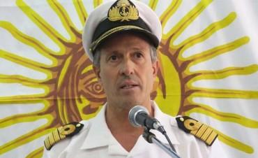 El vocero de la Armada, Enrique Balbi