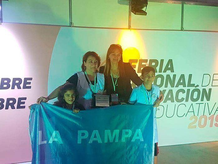 La delegación pampeana obtuvo diez distinciones en Tecnópolis