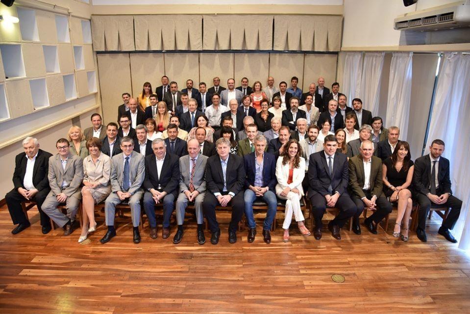 Sergio Ziliotto presentó su gabinete