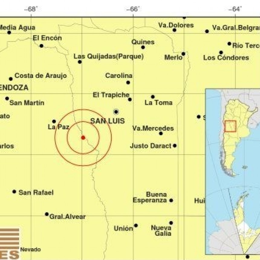 Un sismo en Mendoza se sintió en varias partes del país