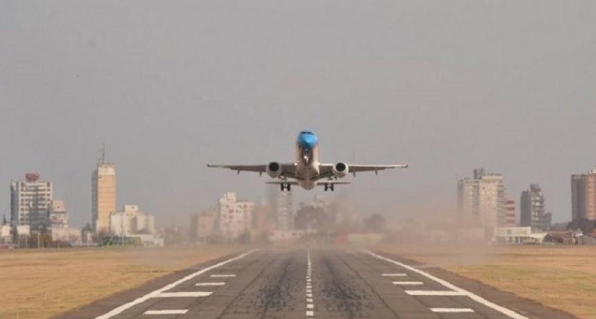 La provincia habilitó el transporte aéreo