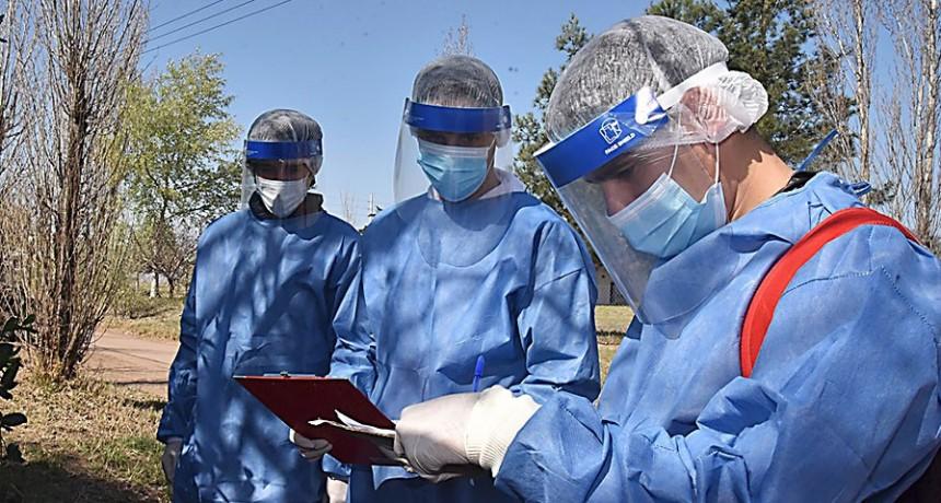 Salud confirmó 76 nuevos casos de Covid-19 en La Pampa
