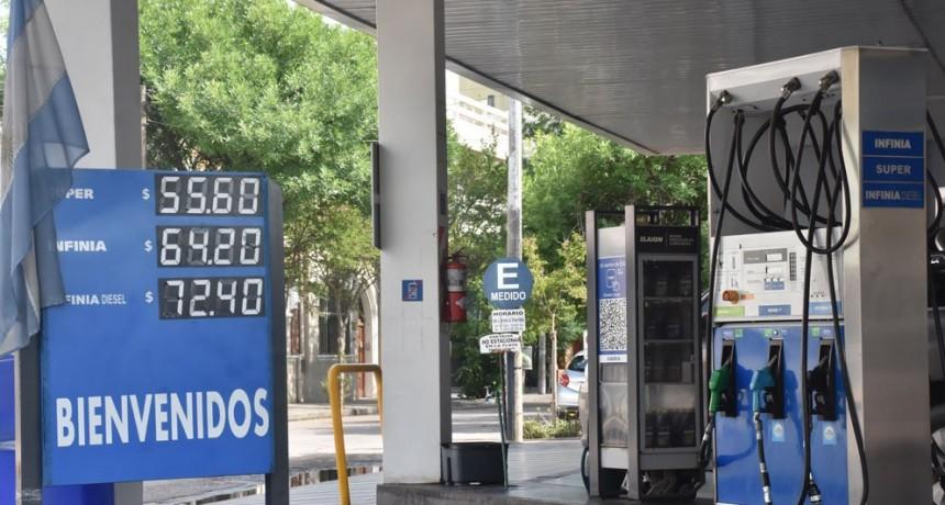 YPF aumentó el precio de sus combustibles un 2,5%