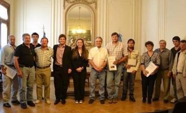 DEPORTIVO Y CULTURAL SANTA TERESA RECIBIÓ FONDOS DE PROVINCIA