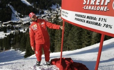 MICHAEL SCHUMACHER INTERNADO GRAVE POR ACCIDENTE