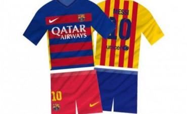 Polémica en España por la nueva camiseta del Barça