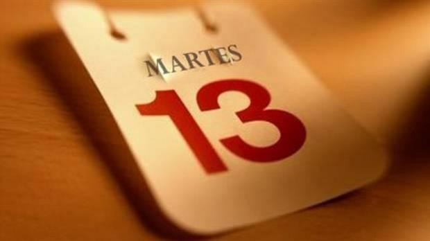 ¿Por qué el martes 13 se considera el día de la mala suerte?