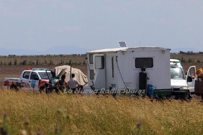 Ocurrió en un predio rural en cercanías de la ciudad de Coronel Suárez, provincia de Buenos Aires.