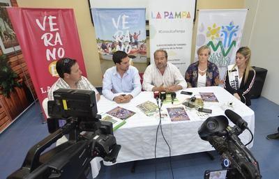 """Todo listo para la """"Fiesta Termas de Larroudé"""""""