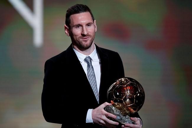 Lionel Messi ganó el sexto Balón de Oro en Francia