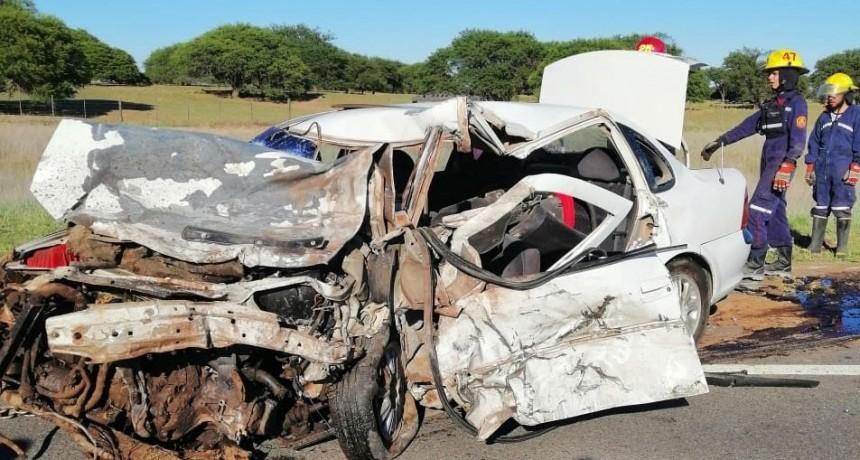Suman cinco los muertos por el choque frontal en la Ruta 35