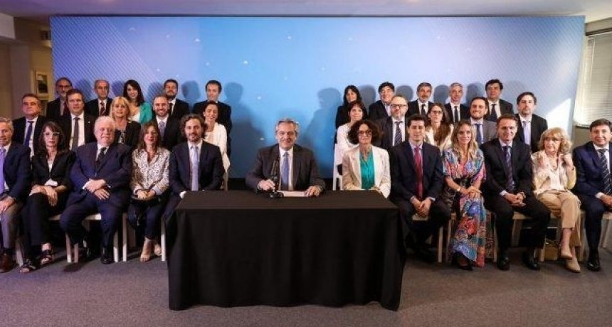 Estos son los 21 ministros y principales funcionarios de Alberto Fernández