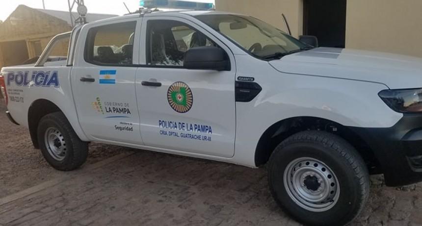 Entregaron 10 camionetas nuevas a la Policía
