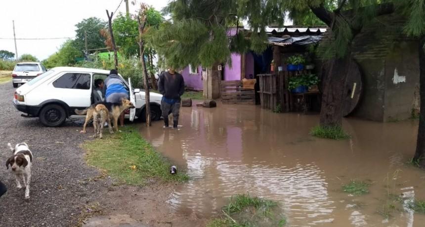 El fuerte temporal en Morteros dejó 50 evacuados