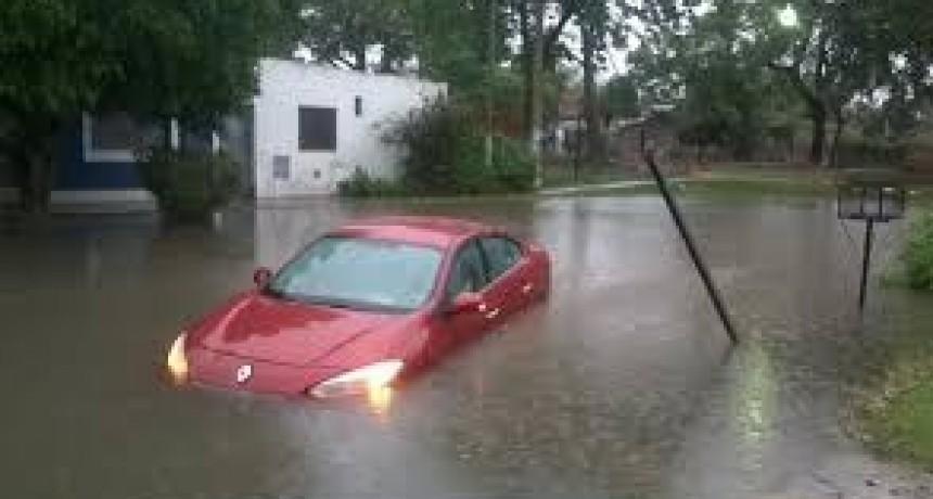 Temporal en Santa Fe: 204 milímetros en 12 horas y evacuados