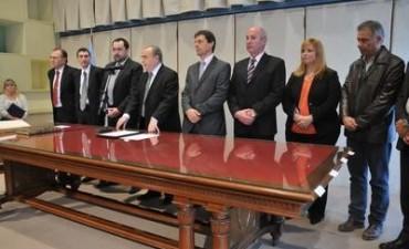 ASUMIERON FUNCIONARIOS EN EL GABINETE PROVINCIAL